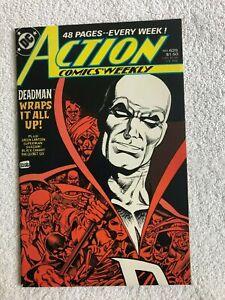 Action Comics Weekly #625 (Nov 1988, DC) VF 8.0