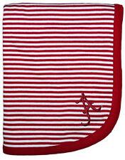 ALABAMA CRIMSON TIDE Striped Baby Blanket