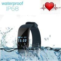 Smart Watch Waterproof Bracelet Heart Rate Monitor Sports Wristband Bluetooth