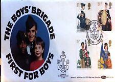 1982 primero Brigada Chicos Para Niños Juventud las organizaciones Sellos FDC BOC (2) 10 A B...