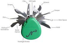 Authentic Nuggy Smokers Multi Tool 10 in 1 Roach Clip Spoon Tamper Scraper Knife