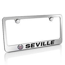 Cadillac Seville Chrome Metal License Plate Frame