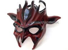 Alien Star War Devil Animal Masquerade Ball Mask Black White Costume Prom Party