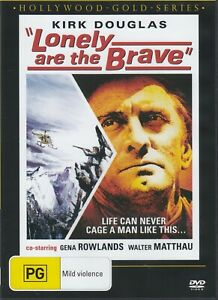 Lonely Are the Brave - Kirk Douglas New and Sealed DVD