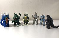 1994-1995 Vintage TOHO Trendmasters GODZILLA Mini Toy Figurines Lot of 6