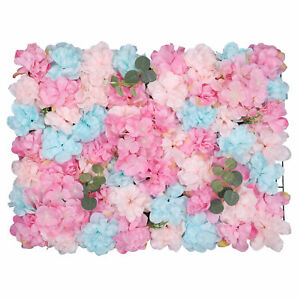 Artificial Flower Wall Panel for Wedding Reception Venue Background Photoshoot