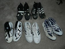 (5) Pairs of Acie Earl Game Used Autographed Signed Basketball Shoes Addidas +