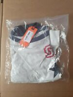 New RRP£29.99 Large Size Womens Quarter Back Top Off White T Shirt bnwt