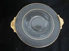 "Duncan Miller Glass short-lived ""Terrace"" pattern #111 c.1935-40 Round Platte"