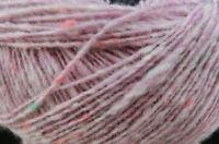 (14,75 €/100 g): 100 g Fine Donegal  von Debbie Bliss, Rosa 54008 #2266