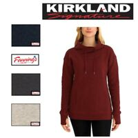 SALE! Kirkland Signature Women's Mock Neck Athletic Pullover Sweater VARIETY B34