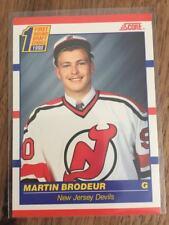 1990-91 SCORE CANADIAN MARTIN BRODEUR Rookie Card 439