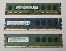 4GB 8GB 16GB DDR3 PC3 1Rx8 12800 1600 MHz Arbeitsspeicher Ram Desktop PC U-Dimm