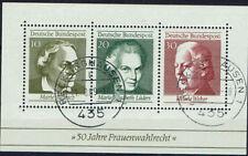 Block  5  gest. Recklinghausen ,  BRD 1969,  Frauenwahlrecht