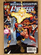 THE AVENGERS #35 VF 2000 Buzz Lightyear Disney Ad Thor Iron Man Captain America!