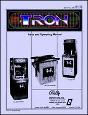 Tron Arcade Operations/Service/Repair Manual/Coin-Op Video Machine Midway     YD