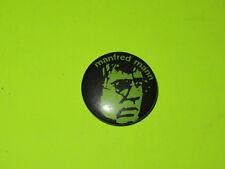 "Vintage 80'S Manfred Mann 1"" Badge Button Pinback Rock"