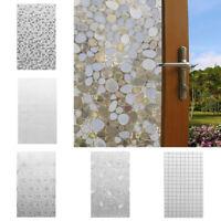 Privacy Frosted Home Bedroom Bathroom Door Window Sticker Glass Film Waterproof