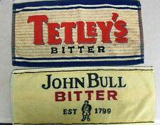 Beer Bar Tavern Towel Tetley's Bitter & John Bull Bitter Est 1799