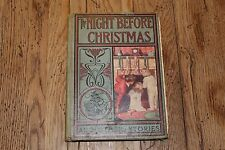 Antique 1905 A.L. Burt Co. ~ The Night Before Christmas