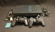 PLAYSTATION 2 PS2 Konsole mit 2 Controllern + Memory Card + Anschlusskabel