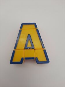 """Lakeshore Alpha Bots Replacement Letter  """"A""""  Transforms to Robot"""