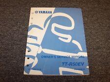 2006 Yamaha TTR50EV TTR50 Motorcycle Dirt Bike Shop Service Repair Manual