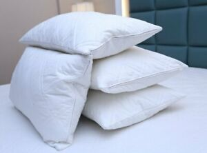 4 X Pillow Cases Waterproof PIllow Protector Anti Allergic Pillows Pack of 4
