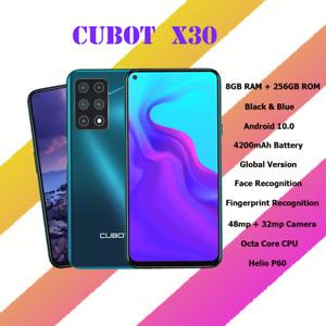 Smart Phones Cubot X30 Android Unlocked 8GB 128GB Helio P60 NFC