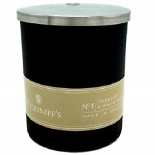 Pecksniff's~No1~TOBACCO & WHITE WOOD~Aromatherapy~1 Wick~CANDLE~5.29 oz~150g~Lid