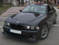 For BMW E39 M5 HM STYLE FRONT BUMPER SPLITTER ADDON APRON VALANCE LIP SPOILER