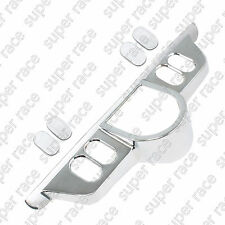 Chrome Switch Panel Accent Cover For Harley Touring ElectraGlides FLHT 1996-2013