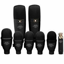 Superlux DRK-F5H3 8 Piece Drum Kit Mic Set Microphone Drum Pack