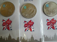 UK 2009 / 2010 £5 COLOURIZED PROOF COIN BIG BEN /CHURCHILL /THE MALL NEW SEALED