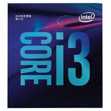 Intel Core i3-8100 8th Gen CPU 4 Cores Processor Coffee Lake LGA1151 3.6GHz 6MB