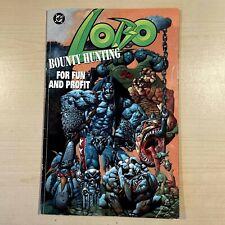 Dc comics LOBO BOUNTY HUNTING FOR FUN AND PROFIT, comic book