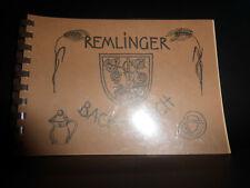 Remlinger Back-Buch Backbuch Handgeschriebene Rezepte