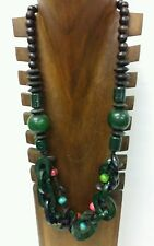 Wood Women Necklace South-East Asian Jewellery