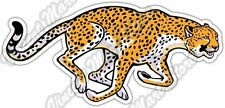"Running Cheetah Wild African Animal Car Bumper Window Vinyl Sticker Decal 6""X3"""