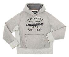 ABERCROMBIE FITCH Hoodie L Mens Vintage A&F Sweatshirt REVERSE WEAVE Chainstitch