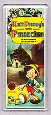 PINOCCHIO movie poster LARGE FRIDGE MAGNET - CLASSIC!