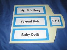 TOYS R US Exclusive Store Display/Sign ~MY LITTLE PONY / FURREAL PETS / DOLLS