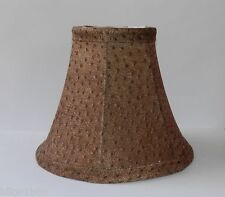 Animal Print Fabric Chandelier Lamp Shade Browns Traditional, any room