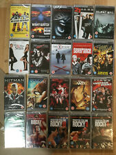 PSP UMD Movies  x 20 new & sealed mixed titles RRP £50+  (box 135)