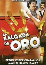 La Nalgada De Oro/Ano 1988/90 Min/Comedia/En Espanol/ Región 1 Y 4/New Dvd