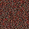 15 Grams Japanese seed Miyuki Opaque Red Picasso Glass Seed Beads