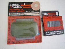 New listing Vintage Johnny Walker Pocket Hand Warmer W/ Box Of 12 Sticks Never Used