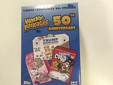 2017 TOPPS WACKY PACKAGES 50th ANNIVERSARY BLASTER BOX