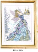SNOW FAIRY  CROSS STITCH PATTERN  ONLY    ALS  AR