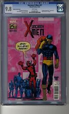 Uncanny X-Men (2013) # 27 1:25 Mike McKone RI - CGC 9.8 White Pages